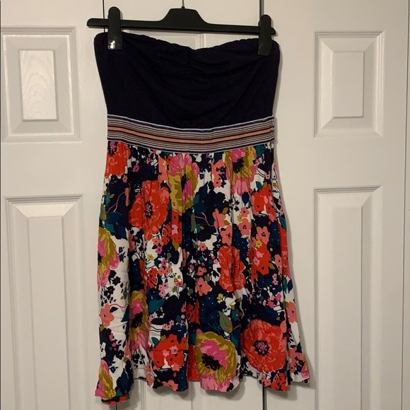 Strapless Dress - Size Medium